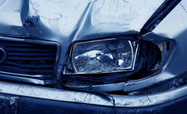 Car accident needing an insurance claim.