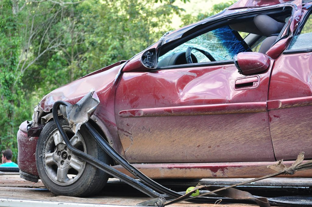 A car accident caused by an uninsured motorist in Albuquerque, NM.